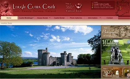 Lough Cutra Castle
