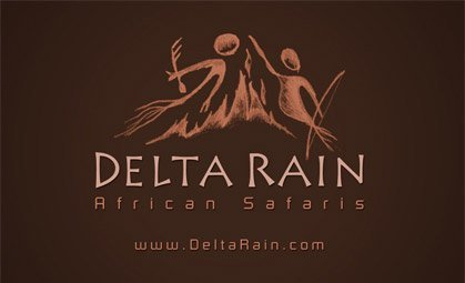 Logo Design for Delta Rain Safaris