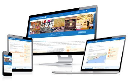 Responsive Website for Leisureland